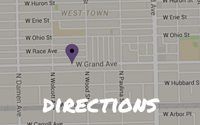 Directions to Through The Body Chicago Fitness Studio